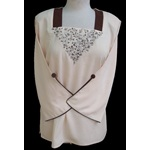 Square Neck Blouse - Model 10084