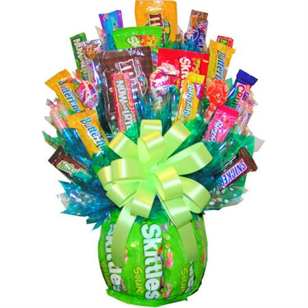Skittles Candy Bouquet Enlarge Image
