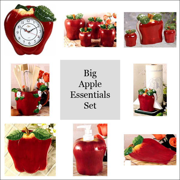 Online catalogs for country home decor trend home design - Apple themed kitchen decor ...