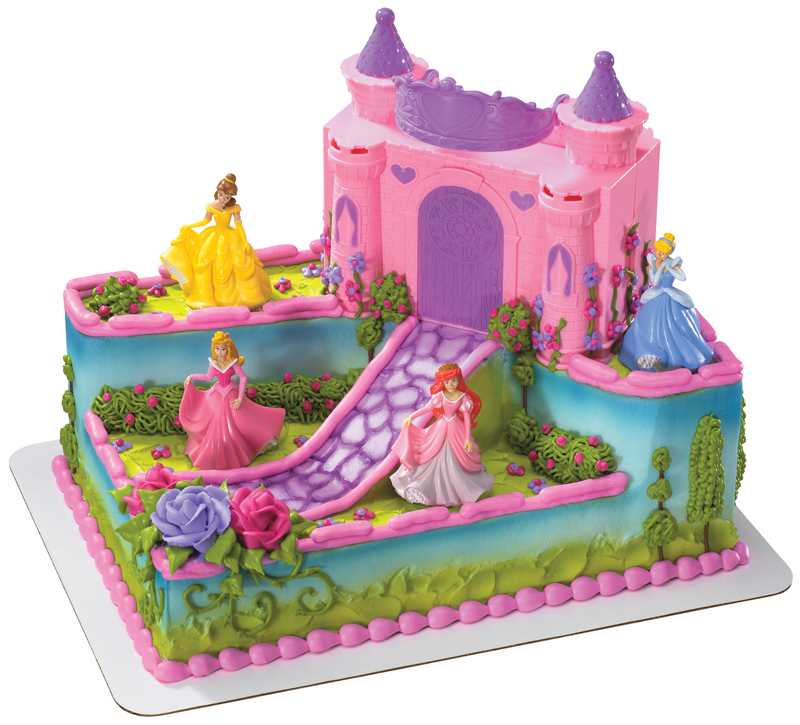 Disney Cake Decorations Princess : Disney Princess Cake Decorations Uk