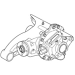 2006-2008 Range Rover Differential Assembly (Sport) - Rear