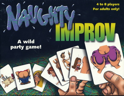 Naughty Improv Adult Board Game. Visit Store. PRICE: $29.95. at Board Games