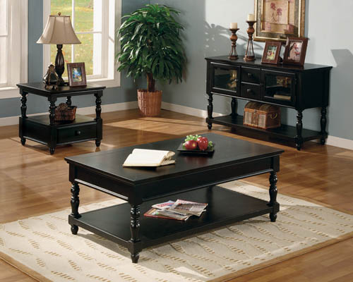 Great Black Side Tables For Living Room On Antique Black Accent Wood Coffee Table  Monstermarketplace Com