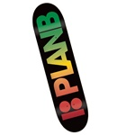 "Plan B Team Fader Black 7.75"" Deck"
