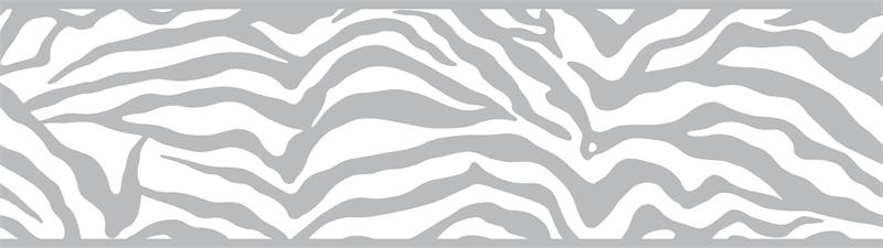 zebra print wallpaper border. FRIENDS FOREVER ANIMAL PRINT