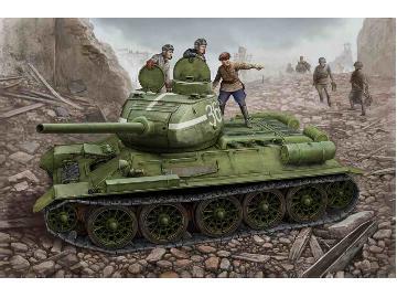 t 34 tank interior  34/85 Model 44 Tank w/Full