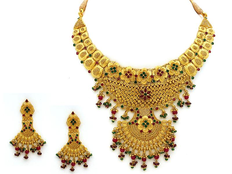Latest Fashion Trends: 22k gold jewellery designs