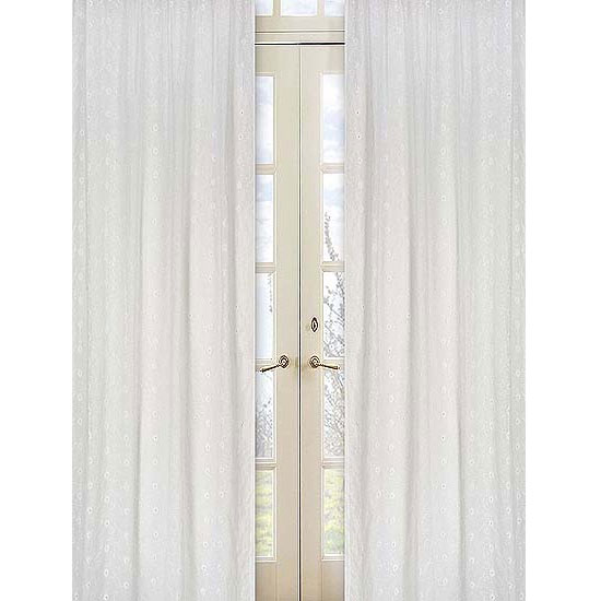 White Eyelet Curtains Curtains Blinds