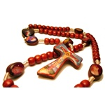 Conception is Life Rosary (Brown Beads)