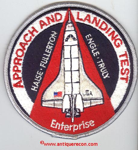 space shuttle enterprise patch - photo #8