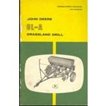 John Deere GL-A grassland drill operators