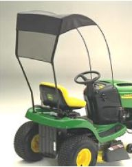 Universal canopy for all riding lawn mowers - Mitchell, Charles N.