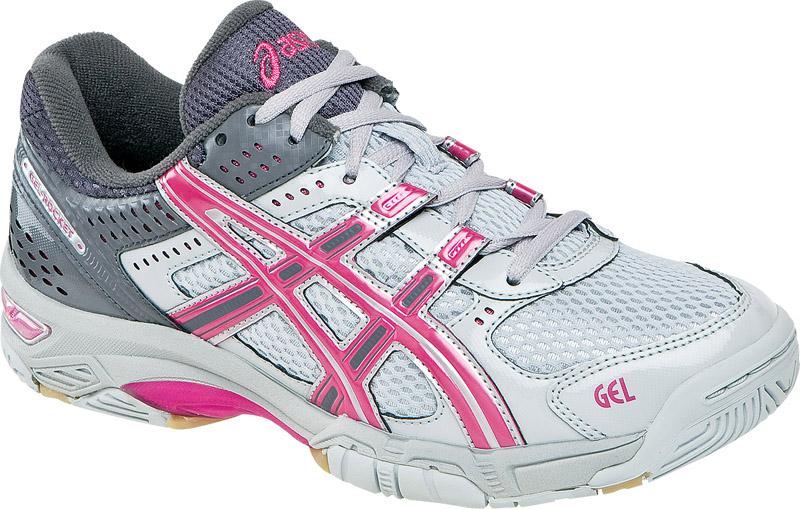 ASICS(R) Women's GEL(R) Sensei Silver/Yellow Volleyball Shoes