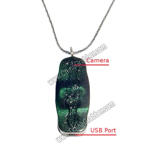 Spy camera necklace 171 yankee produce company