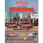 12 Hours of Sebring-1981 original event poster