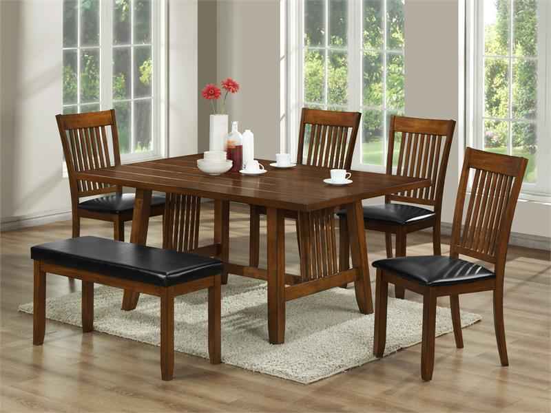 mission style dining room sets for pinterest