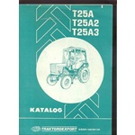 Belarus T25A, T25A2, T25A3 Tractor Parts