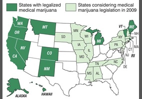 What States Have Legalized Marijuana