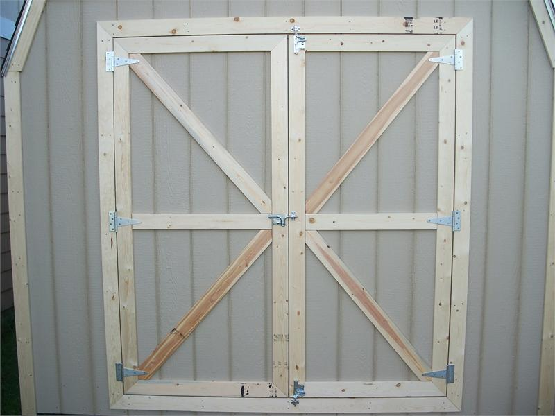 Wooden Shed Pure Sheds 7x5 Pure Sheds Pressure Treated Double Door