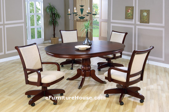 Exellent Dining Room Chairs With Arms And Casters Design. Dining Room Chairs With Casters   Interior Design