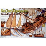 San Juan Nepomuceno Wooden Sailing Ship Model kit 1-90 by Artesania Latina
