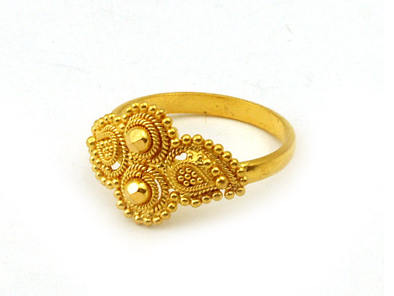 Tanishq gold ring, $180CAD   jwellary   Pinterest   Gold rings ...