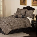 Lifestyles, Corsini Collection, 7-Piece Jacquard Comforter Set, King