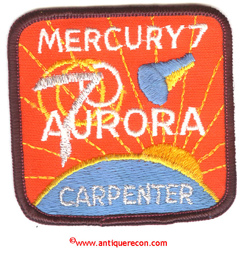 NASA Mercury 5 Patches - Pics about space