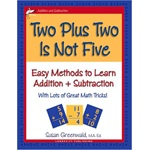 Two Plus Two Is Not Five (Susan Greenwald) - Paperback