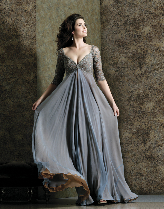 Oprah\'s Gray Gown – fashion dresses