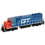 Atlas EMD GP40-2 Phase 1 Grand Trunk Western Master Series Silver #6418 (Without Decoder and Sound) [DCC Ready], HO