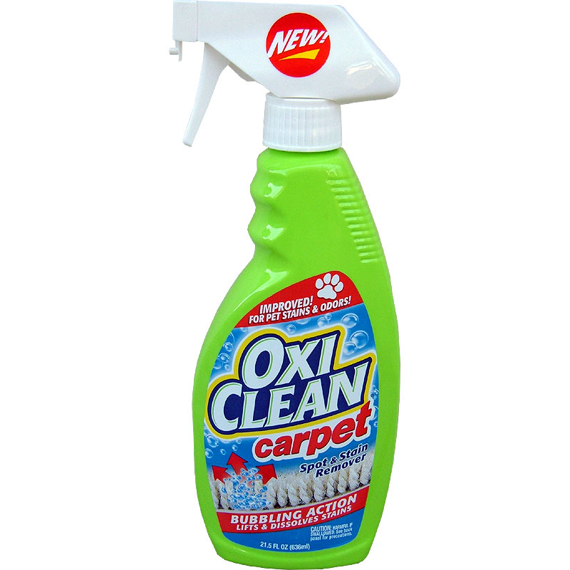 Using OxiClean in Carpet Cleaning Machines | eHow.com