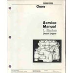 Onan L series engine service. L317, L423, L634,