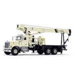 1:50 Scale TWH Model,National Crane 1300H with Peterbilt 357 Chassis - National Crane ivory
