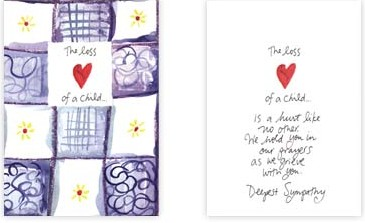 Sympathy Cards for the Loss of a ChildSympathy Quotes For Loss Of A Child