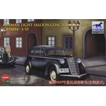 Bronco Models 1/35 Scale WWII Civilian 1937 German Opel Olympia Car Model Kit