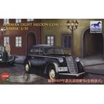 Bronco Models 1/35 Scale WWII Civilian 1937 German Opel Olympia Car Model Kit