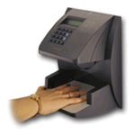 Hand Punch 3000 Biometric Time Clock