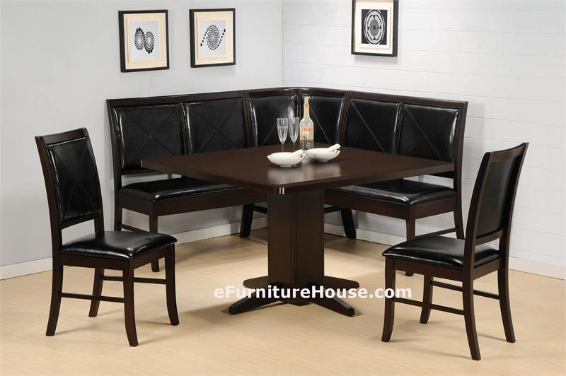 Dining table corner dining table and chairs Corner dining table
