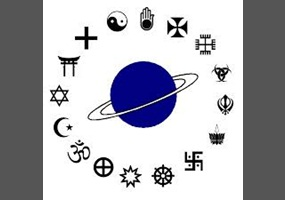 is there one true religion T hree primary religions are considered monotheistic—maintaining belief in one supreme creator: christianity, islam and judaism all three revere jerusalem as a holy city.