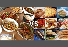 home made foods better than fast foods For more than fifty years, eating at fast-food restaurants has been an  unable to  store supplies or afford cooking oil, often ate at booths that.