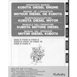 Kubota D905, V1205, V1505, D1005, V1305 Engine Ops