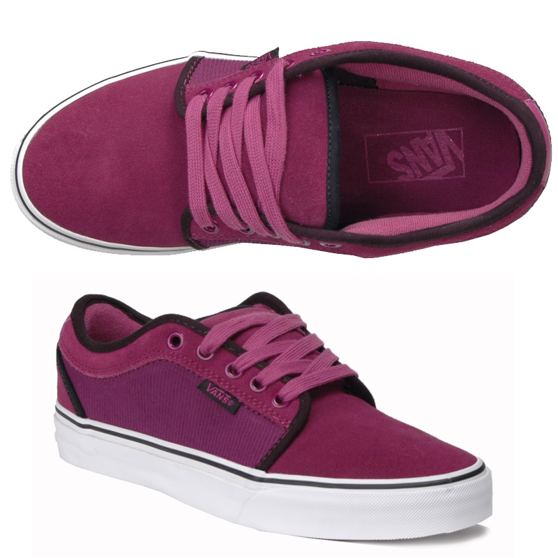 Vans Womens Chukka Low Purple/Black