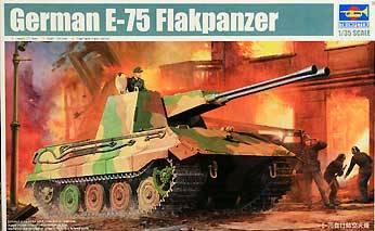 E75 German Tank http://www.monstermarketplace.com/hobby-and-art-supplies/german-e75-flakpanzer-tank-1-35-trumpeter