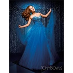 TONY BOWLS 2010 LE GALA PROM DRESS 110513