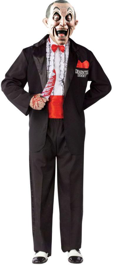 Ventriloquist Doll Costume. VENTRILOQUIST DEMENTED DUMMY