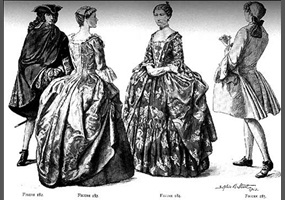 Do You Like The Fashion During The 1700s In France