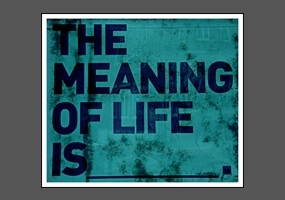 a debate on the topic of the meaning and illusion of life What is the best meaning of life answer that you have ever given or heard.
