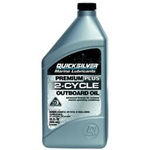 Quicksilver Premium Plus 2 Cycle Oil - Quart