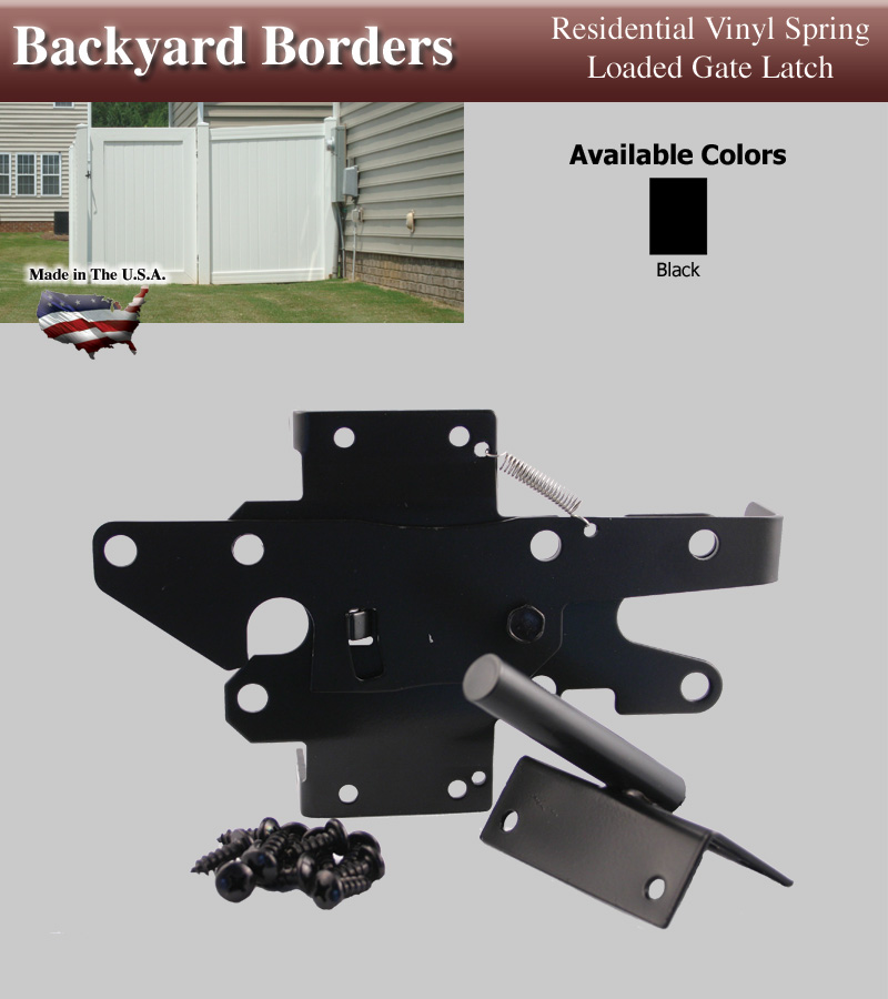 Residential D  D Gate Hardware - Gate Latches and Locks | Fence